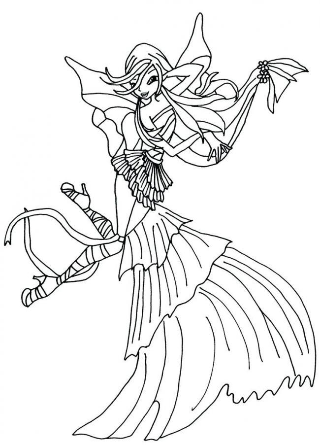 công chúa winx duyên dáng