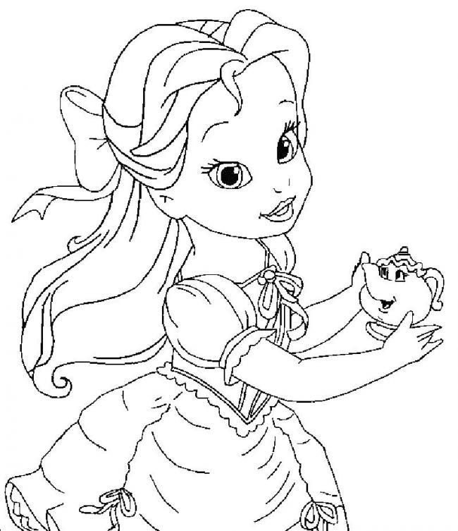 hình ảnh công chúa nhỏ và người bạn