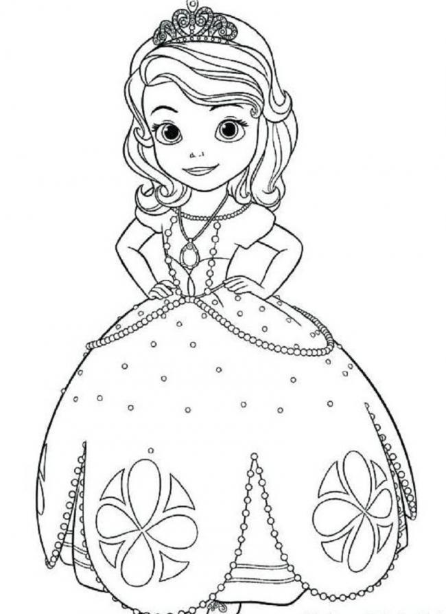 công chúa nhỏ cài vương miện