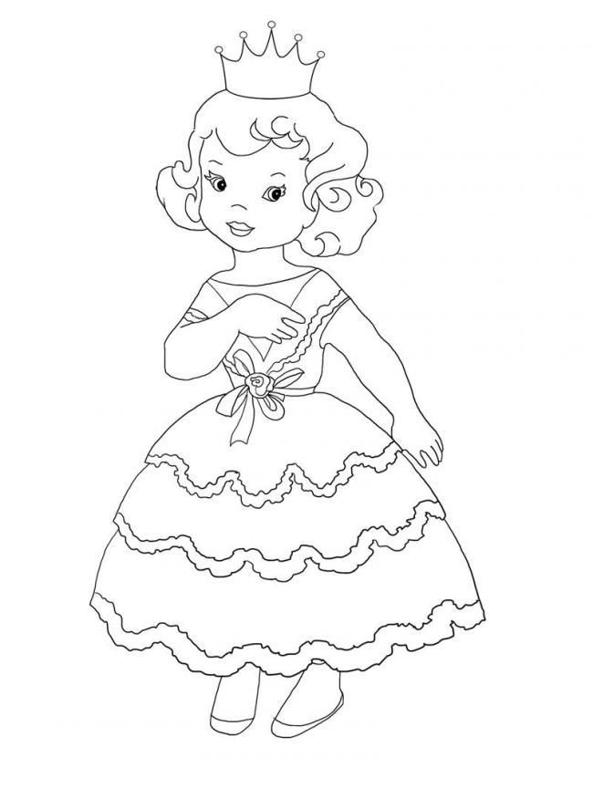 công chúa đi dự hội với chiếc váy lộng lẫy