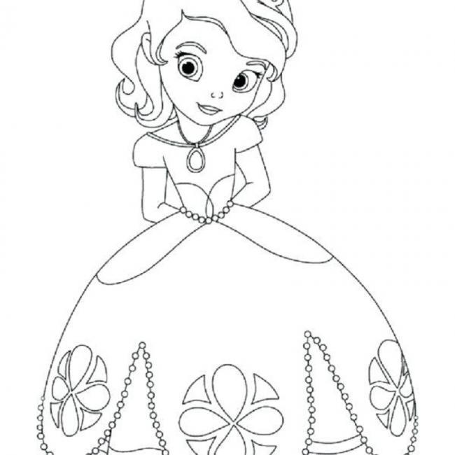 Công chúa diện váy hoa