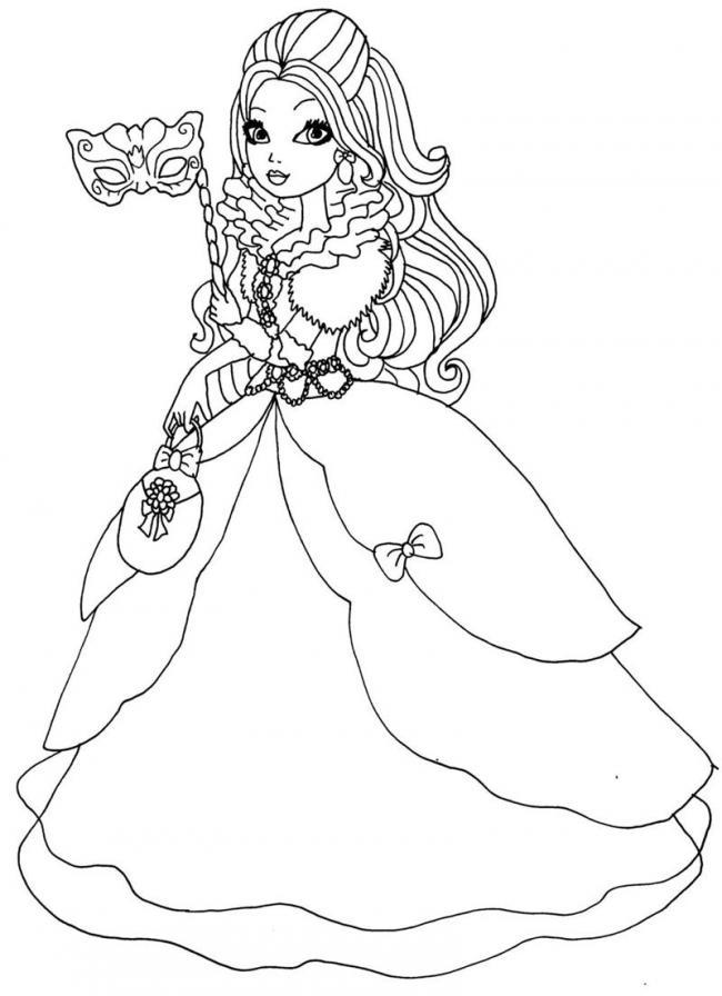 Công chúa đi dự vũ hội hóa trang