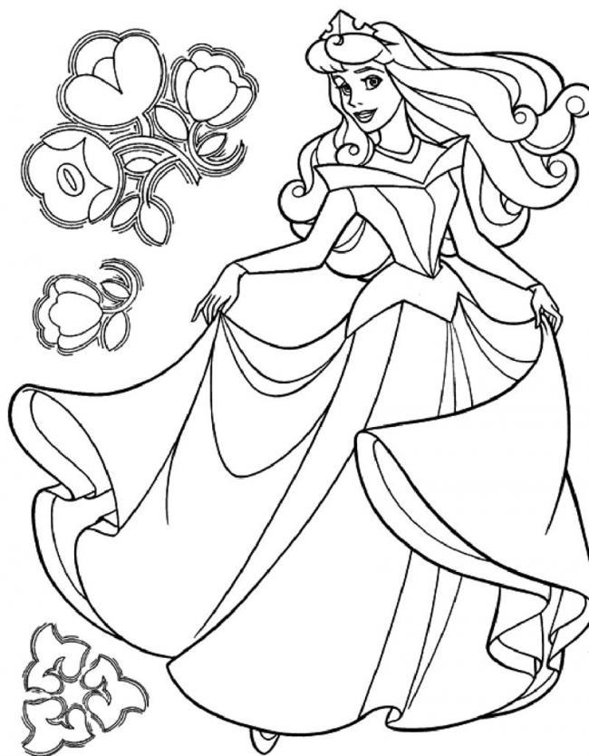 công chúa với chiếc váy lộng lẫy nhé