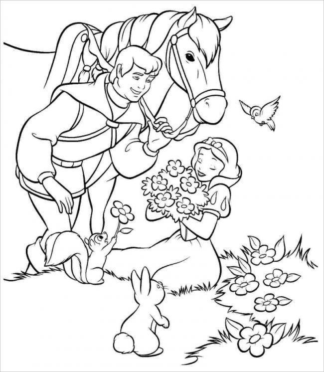 Hoàng tử và công chúa Bạch Tuyết