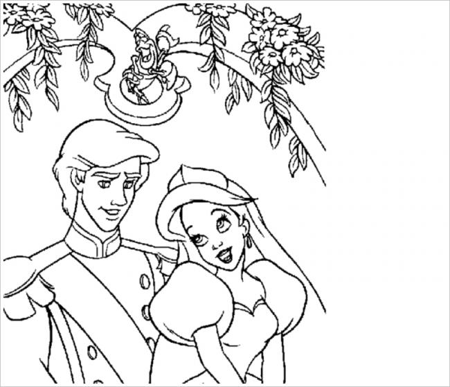 Công chúa e thẹn bên hoàng tử đẹp trai