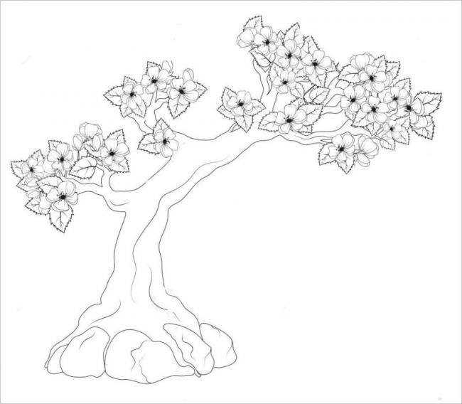 ảnh cây mai thế do các nghệ nhân hoa uốn tỉa