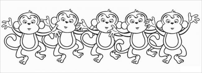 Các bạn khỉ đang nhảy giai điệu gì thế nhỉ?