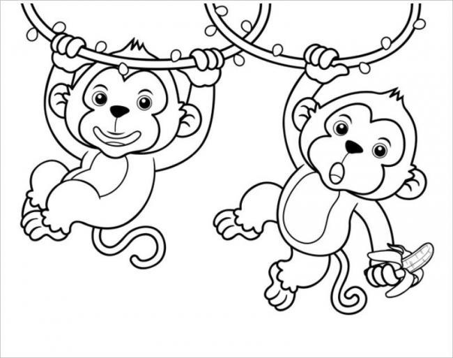 Chuối là món ăn ưa thích của khỉ