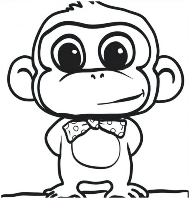 Khỉ con bảnh trai