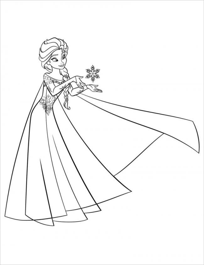 Elsa có thể điều khiển băng tuyết