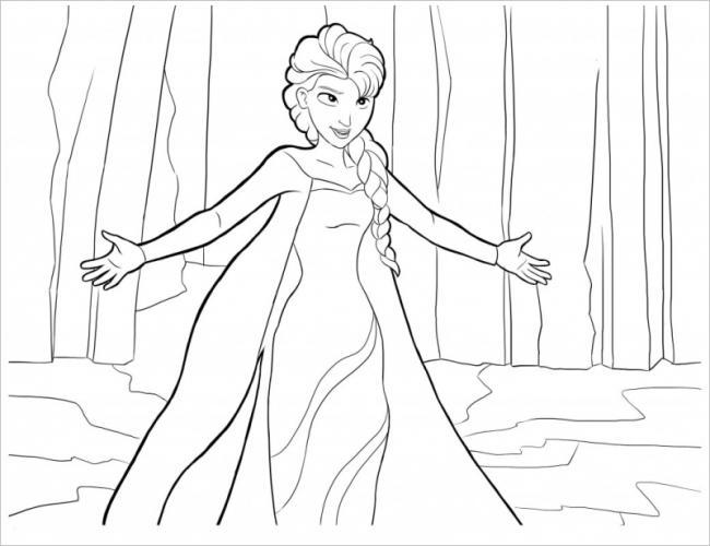 Elsa nổi giận