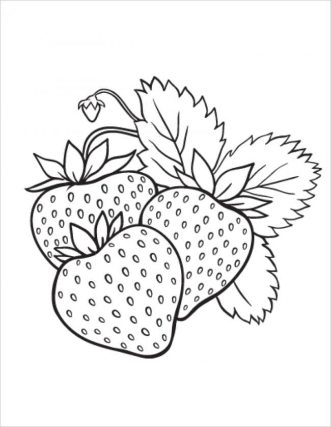 Lá dâu tây có hình răng cưa