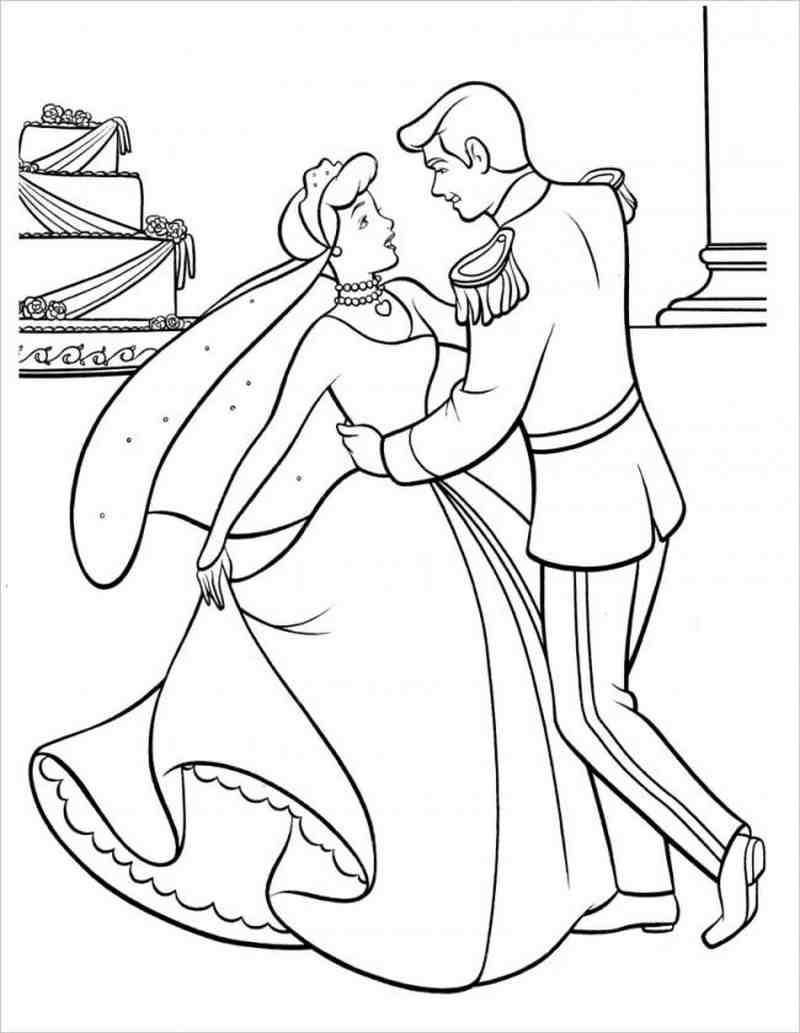 hình ảnh Công chúa lọ lem và hoàng tử nhảy múa