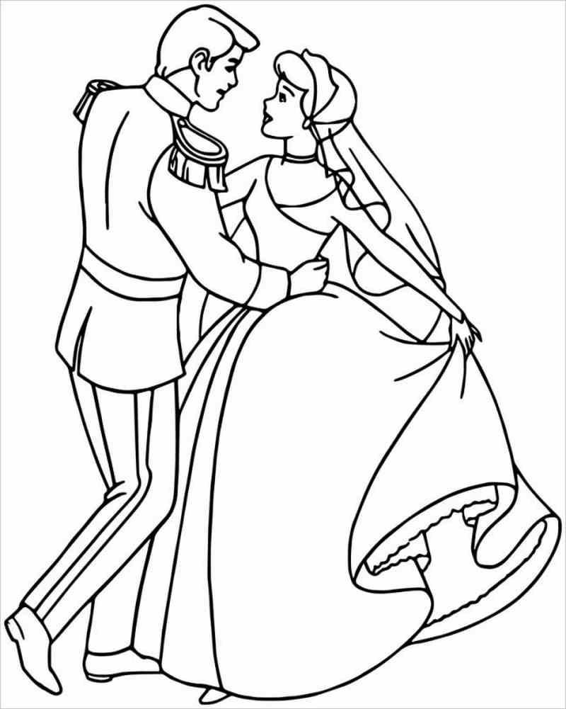 Lọ lem hạnh phúc trong vòng tay hoàng tử