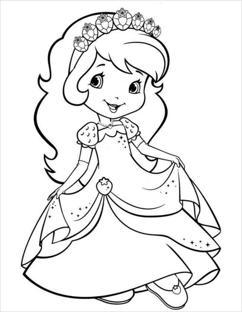Công chúa mắt tròn đội vương miện kim cương