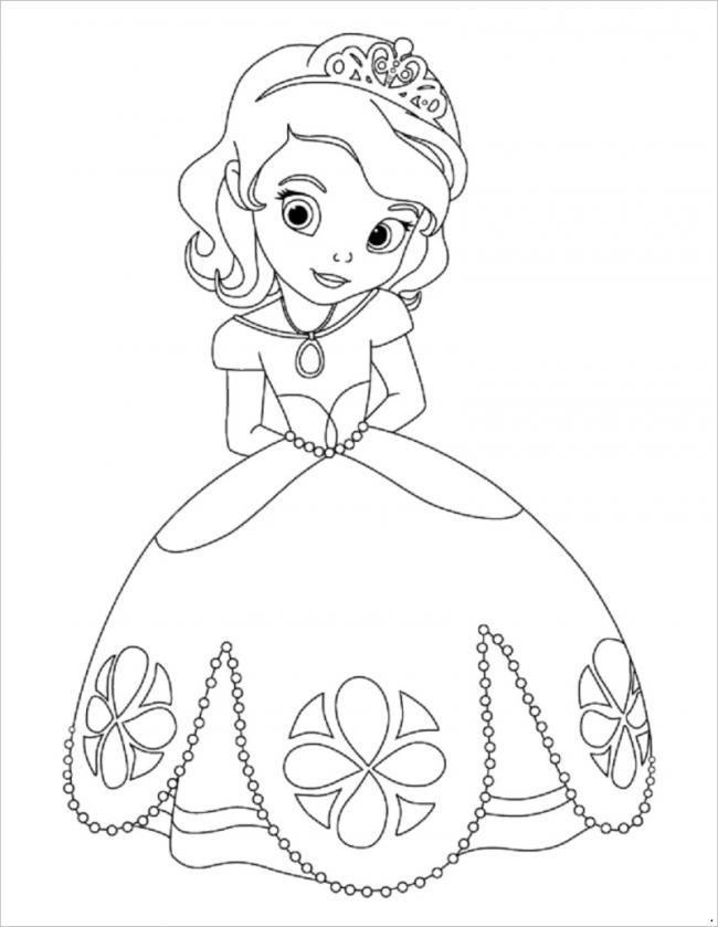 hình ảnh công chúa mắt tròn tóc ngắn