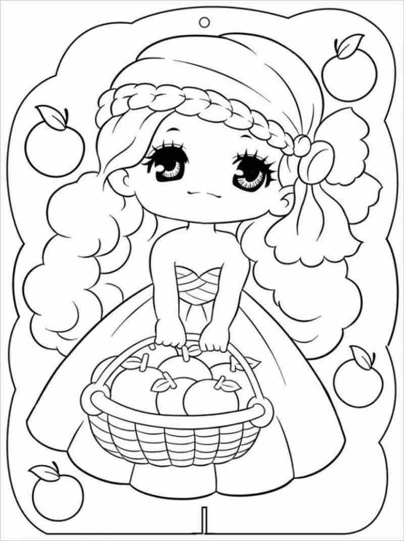 hình ảnh công chúa có mái tóc vàng bồng bềnh và đôi mắt to tròn