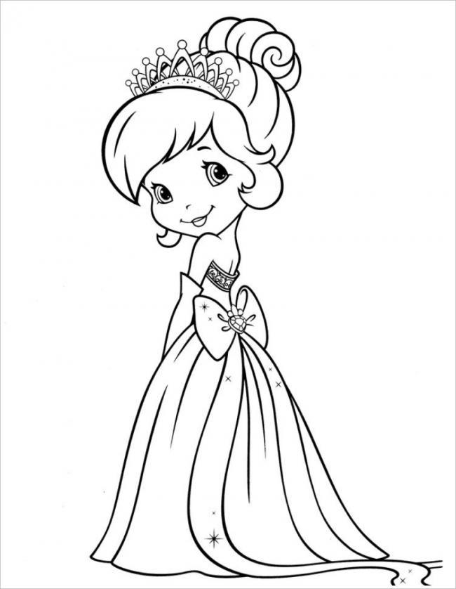 Công chúa mặc váy thắt nơ