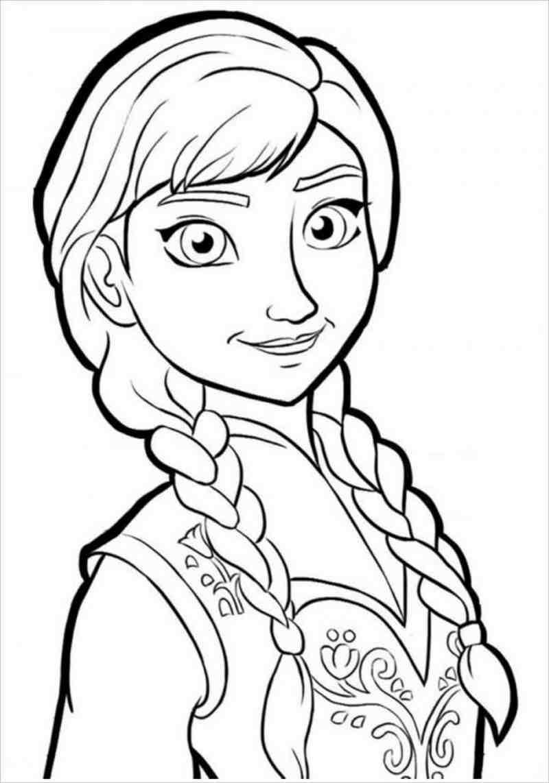 Công chúa Anna tết tóc
