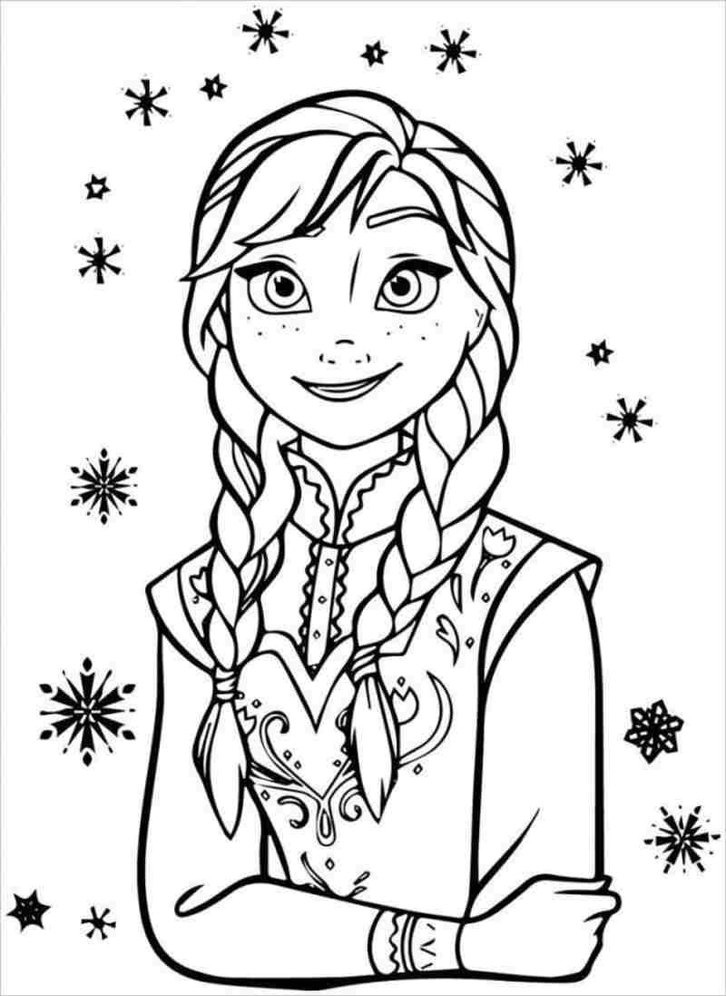 Anna có đôi mắt to