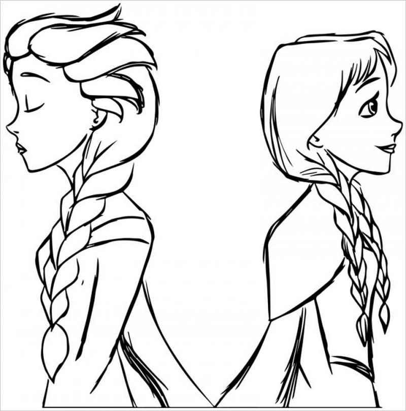 Hình ảnh hai chị em Anna