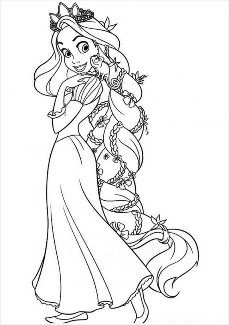 Nàng tóc mây đội vương miện lấp lánh
