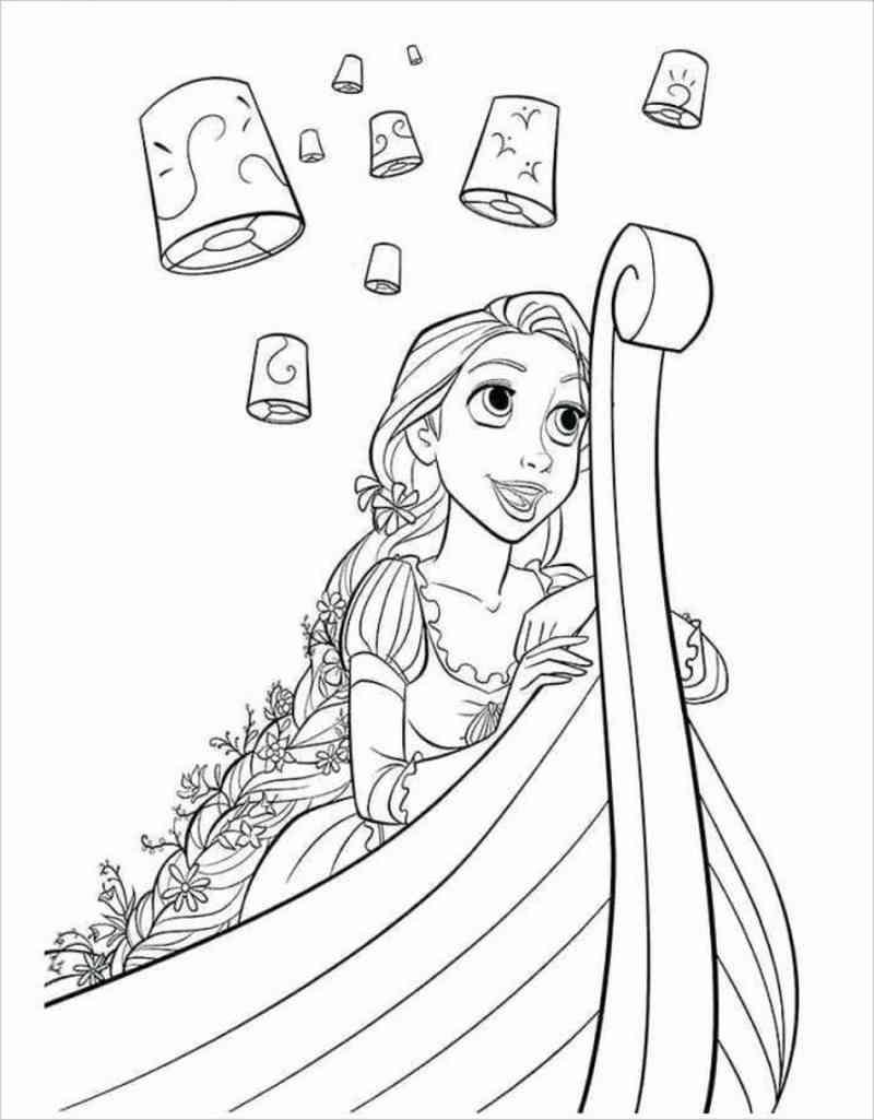Công chúa tóc mây đi thuyền
