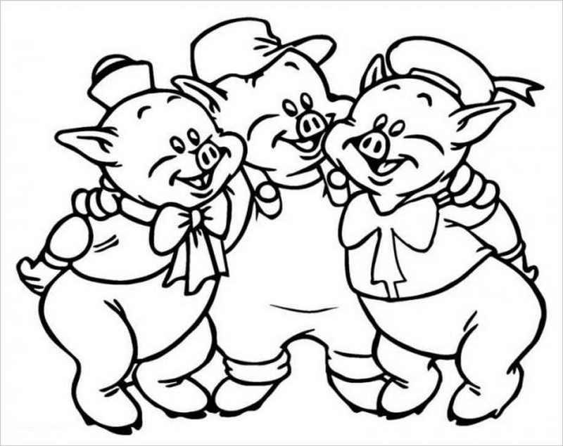 Ba chú lợn này cùng nhau ca hát đáng yêu chưa