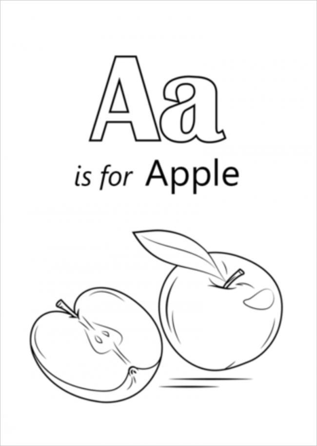 tranh tô mà giúp bé vừa học chữ vừa học vẽ