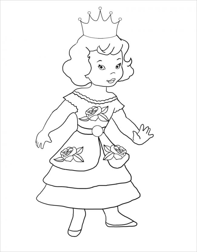 công chúa nhỏ đáng yêu
