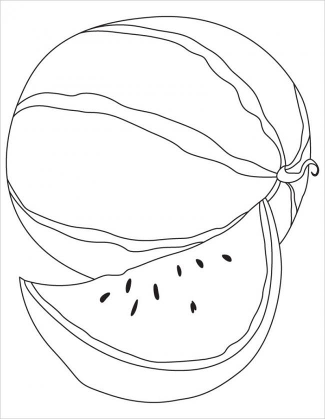 quả dưa hấu thường có dạng tròn và bầu dục