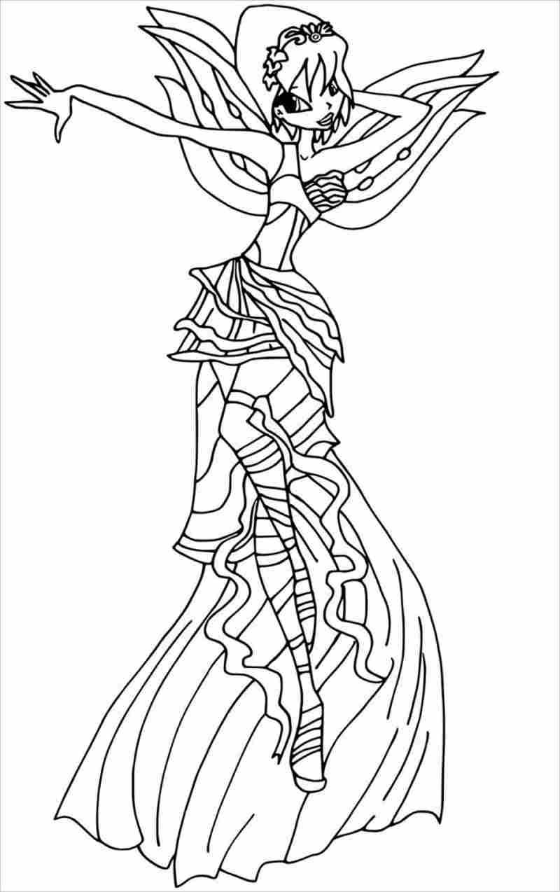 Công chúa Winx điệu đà với mái tóc ngắn