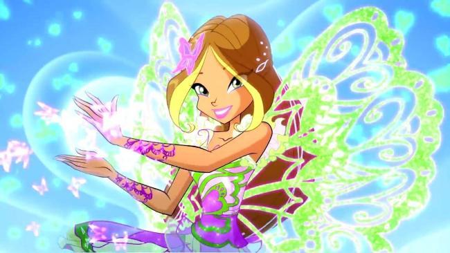 Hình ảnh công chúa phép thuật Winx tạo dáng dễ thương
