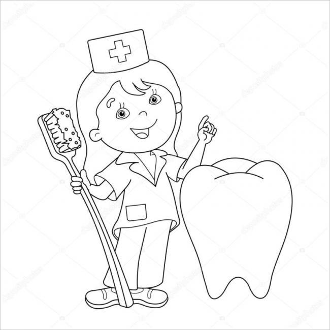 Cô y tá hướng dẫn các con trải răng đúng cách.
