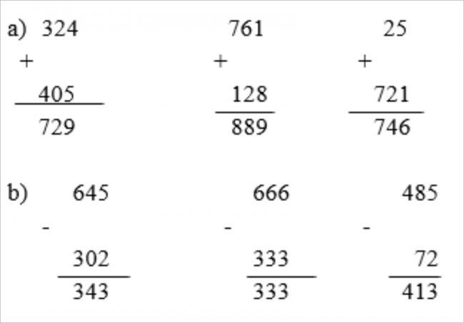 Giải bài tập toán lớp 3: Luyện tập trang 4