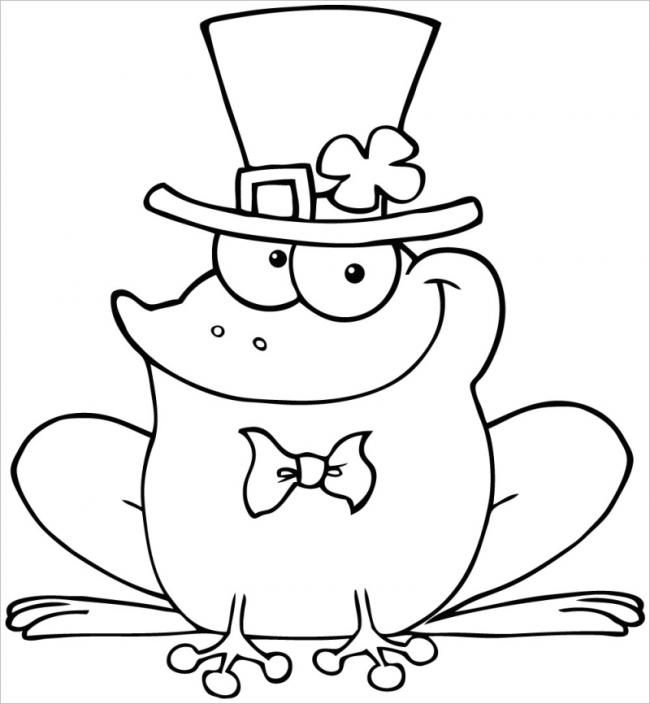hình ảnh ếch thắt nơ