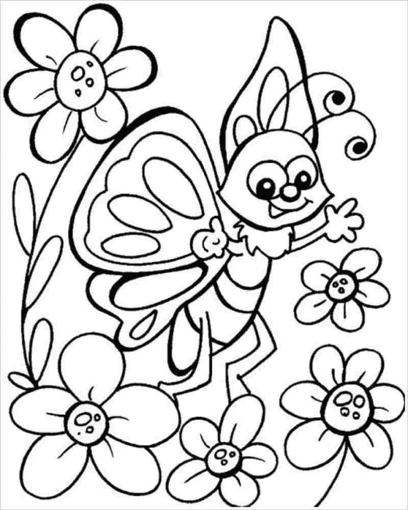 hình ảnh bướm và hoa