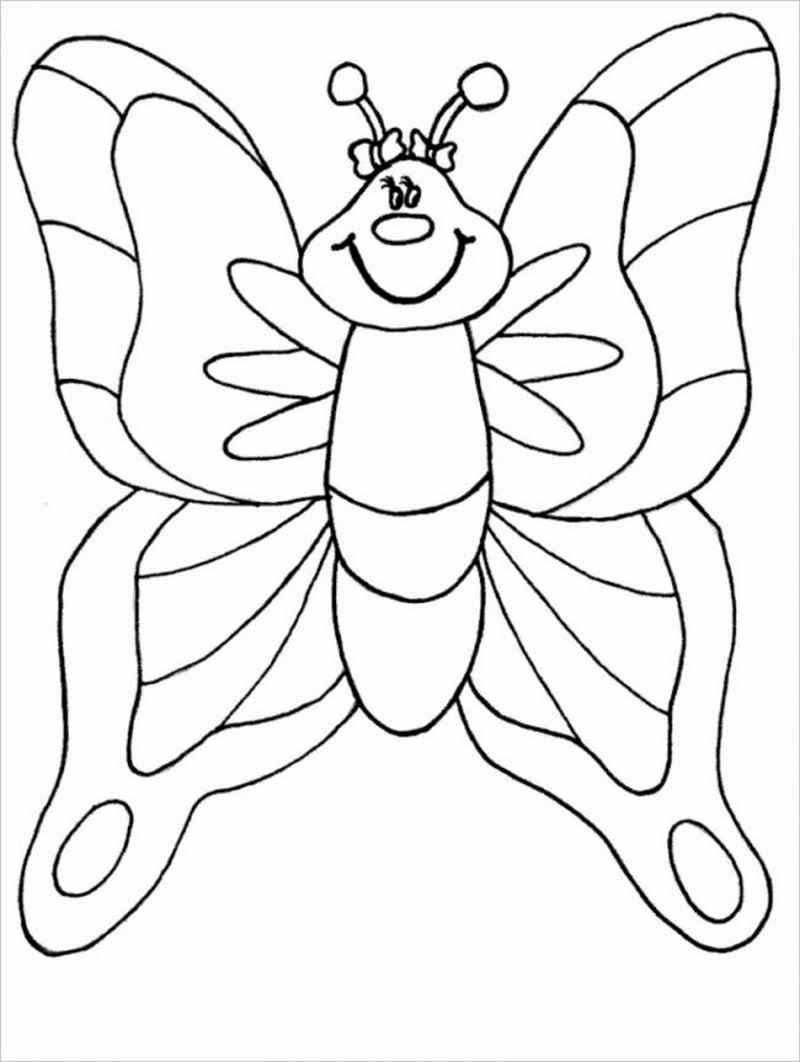 hình ảnh chú bướm ngộ nghĩnh
