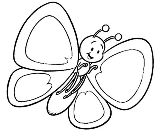 chú bướm vui vẻ