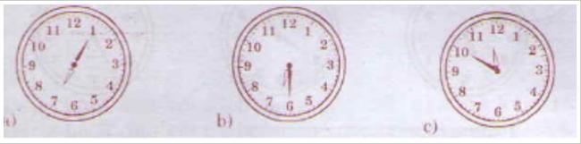 Giải bài tập toán lớp 3: Xem đồng hồ trang 13 sách giáo khoa toán