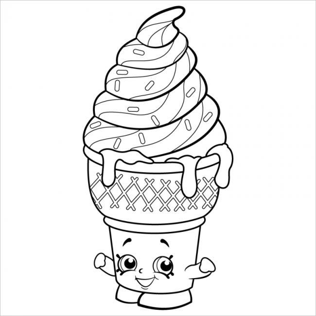 Ly kem vị vani ngọt ngào nhất