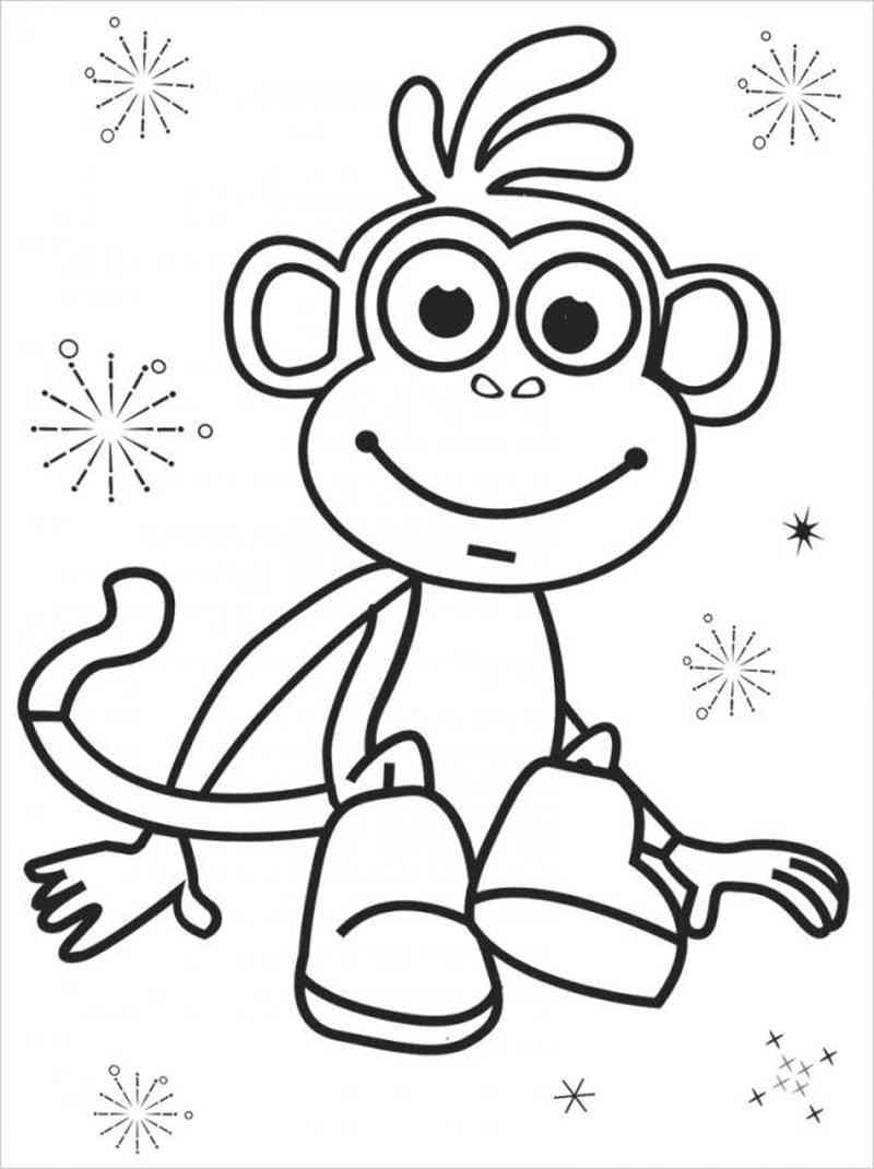 Chú khỉ vui vẻ