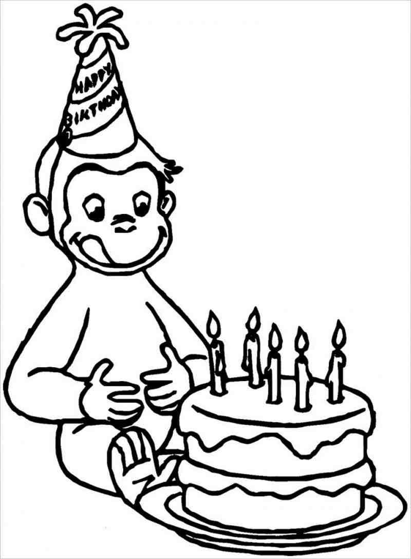 hình ảnh khỉ thổi nến sinh nhật