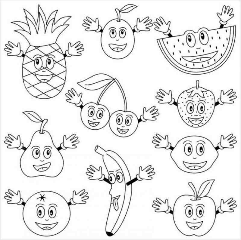 hình ảnh nhiều loại trái cây