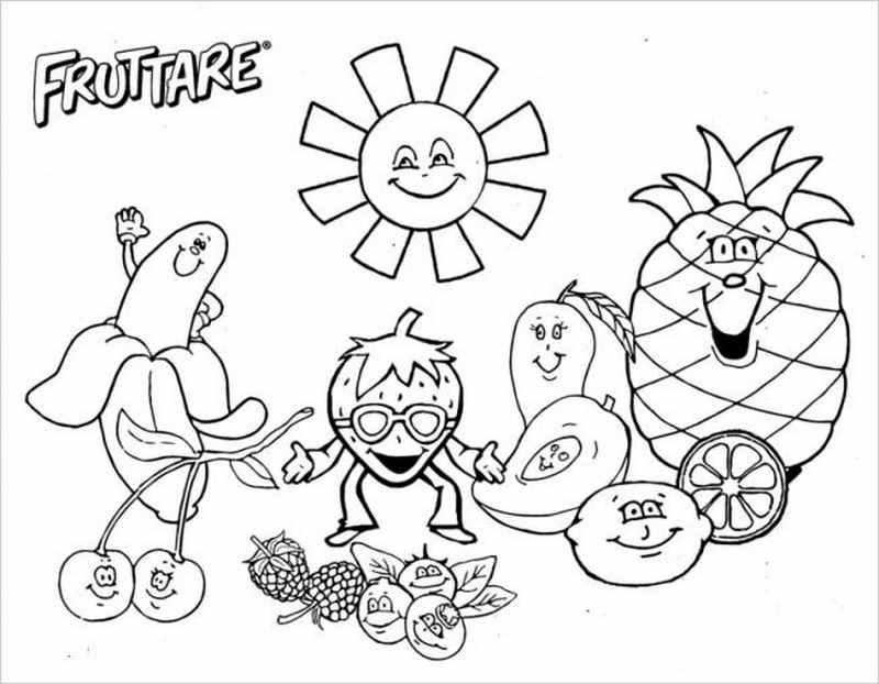 Mặt trời và trái cây