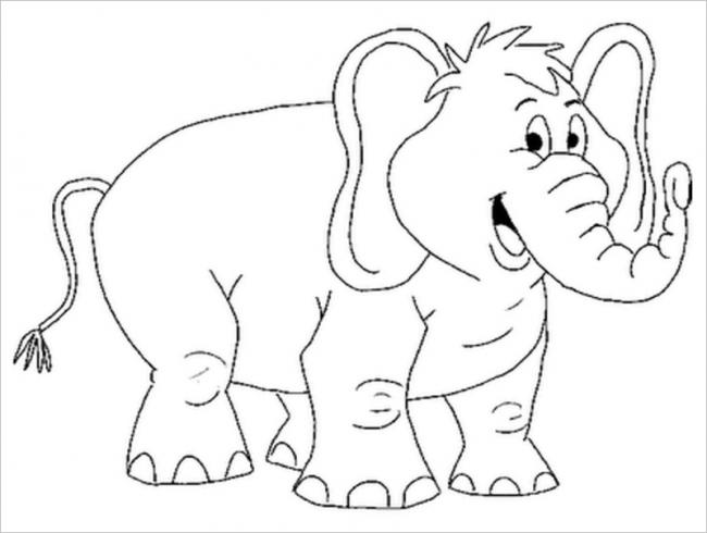 hình ảnh voi giương vòi