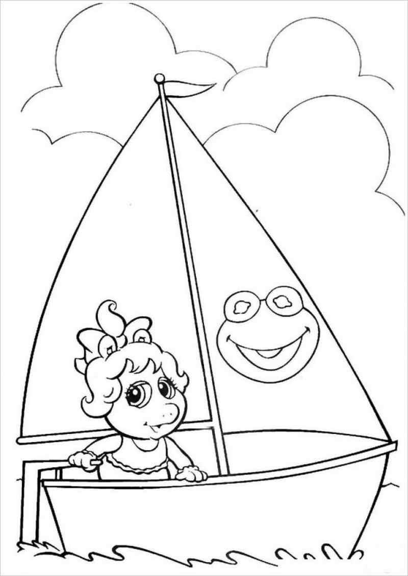 hình ảnh chiếc thuyền xinh xắn