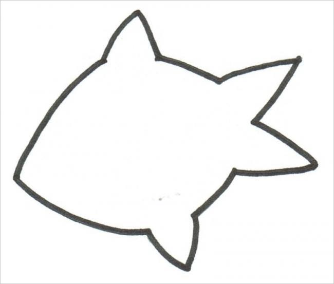 hình vẽ chú cá đơn giản