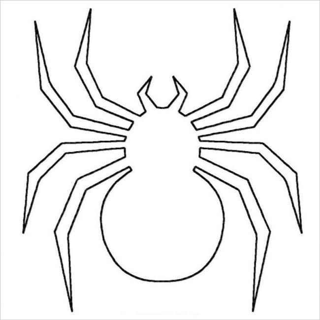 hình con nhện đơn giản