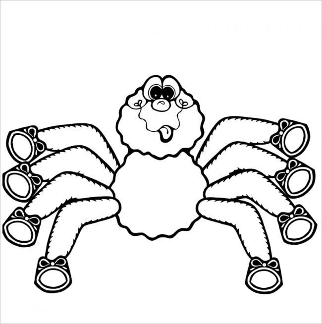 Hình ảnh con nhện ngộ nghĩnh